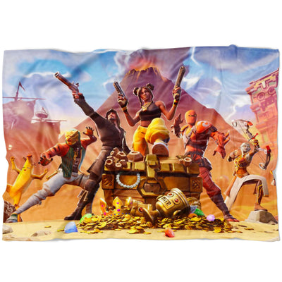 Fortnite Fleece Blanket Season 8 Soft and Cozy Blanket FB475