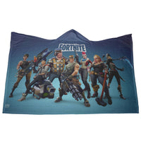 Fortnite Hooded Blanket Soft and Cozy Blanket FB471