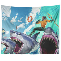 Fortnite Tapestry Aquaman Sea Cool Tapestries FB469