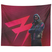 Fortnite Tapestry Black Abstrakt Tapestry For Guys FB468
