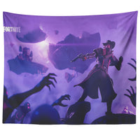 Fortnite Tapestry Wall Decor Purple Tapestry FB474
