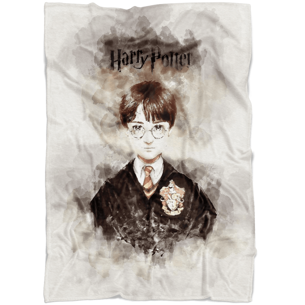 Harry Potter Fleece Blanket Vintage Painter Blanket - Lusy Store