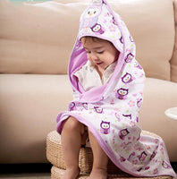 Kids Hooded Blanket Beach Towel For Children For Bathing Swimming Pool Childrens Bathrobe