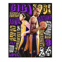 Kobe Bryant Painting 5D DIY Diamond Basketball Gifts Home Decor