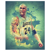 Kobe Bryant Painting 5D DIY Diamond Basketball Gifts Home Decor E1452