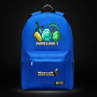Minecraft Backpack Male Female Students Single Creeper Backpack Unique Premium Quality B128 - Lusy Store