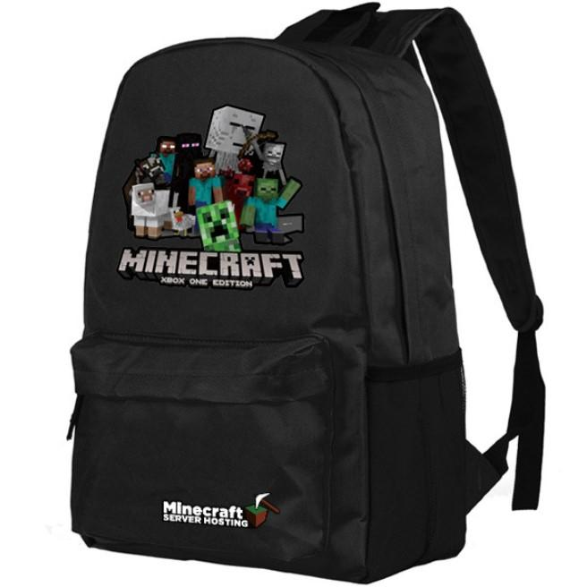 Minecraft Backpack Premium Quality Schoolbag Students Backpack B107 - Lusy Store