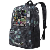 Minecraft Backpack Premium Quality Schoolbag Students Backpack B111 - Lusy Store