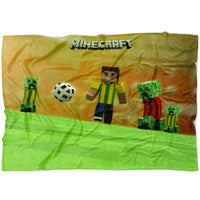 Minecraft Blanket Football Minecraft Fleece Soft Blanket MC903