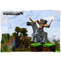 Minecraft Blanket Horse Minecraft Fleece Soft Blanket MC900