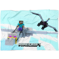 Minecraft Blanket How Train Your Dragon Fleece Soft Blanket MC911
