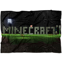 Minecraft Blanket World Funny Fleece Soft Blanket MC908