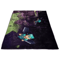 Minecraft Combat Fleece Blanket Lightweight Supremely Soft - Lusy Store