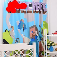 Minecraft Curtain Case Bedroom 3D Minecraft Furniture