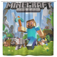 Minecraft Curtain Steven and Sky