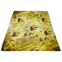 Minecraft Feece Blanket Minecraft Bees Plasma Colorful Blanket - Lusy Store