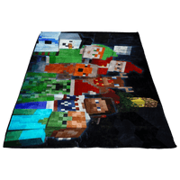 Minecraft Festive Fleece Blanket Lightweight Supremely Soft & Cozy Warm And Super Comfortable Best Gift For Kids - Lusy Store