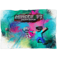 Minecraft Fleece Blanket Color Dust Colorful Blanket - Lusy Store
