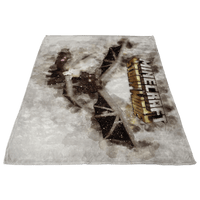 Minecraft Fleece Blanket Ender Dragon Grey Blanket LS0805 - Lusy Store
