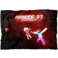 Minecraft Fleece Blanket Magic Night Black Blanket - Lusy Store