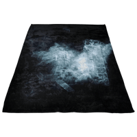 Minecraft Fleece Blanket Smoke Black Blanket - Lusy Store