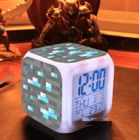 Minecraft Lamp Touch light Minecraft Alarm Clock with LED - Lusy Store