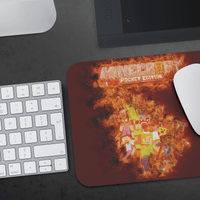 Minecraft Mouse Pad Burn - Lusy Store