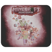 Minecraft Mouse Pad Survivor Pink