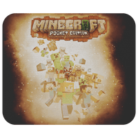 Minecraft Mouse Pad Survivor Yellow