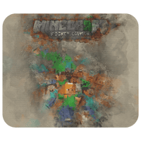 Minecraft Mouse Pad Watercolor A103