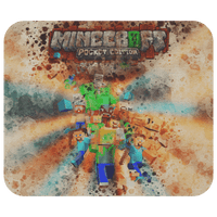 Minecraft Mouse Pad Watercolor A104