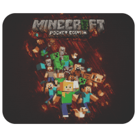 Minecraft Mouse Pad Wet Glass