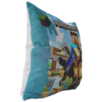 Minecraft pillow steven ride horse - Lusy Store