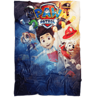 Paw Patrol Fleece Blanket Battlefield Blue Blanket - Lusy Store