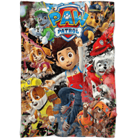 Paw Patrol Fleece Blanket Seizure Colorful Blanket - Lusy Store
