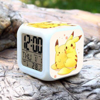 Pokemon Alarm Clock Digital LED 7 Colors Change Night Light For Kids A33 - Lusy Store