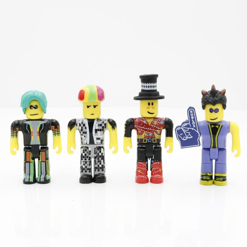 Roblox Toys Disco Madness Mix Set 4pcs Pack PVC Suite Dolls Model Toys For Boys Christmas Gifts - Lusy Store