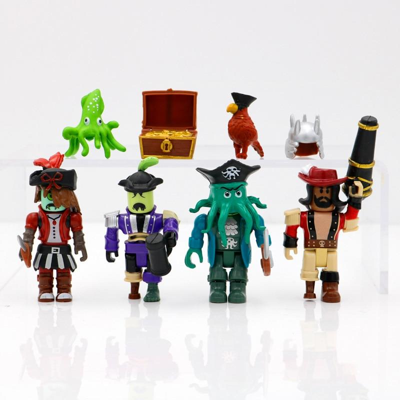 Roblox Toys Pirate Showdown Mix and Match Set PVC Suite Dolls Model Gifts for Kids - Lusy Store