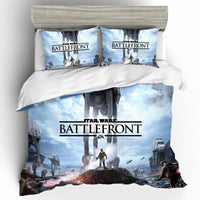 Star Wars Bedding 3D High Quality Home Textile Cotton Comforte Bedding For Children Room - Lusy Store