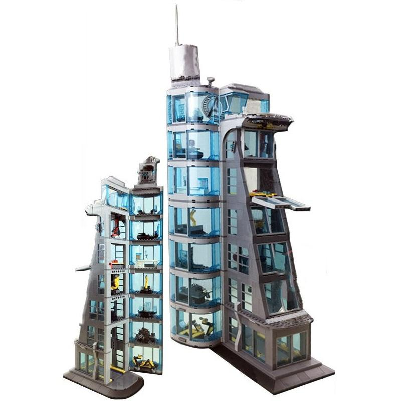 Tower Blocks New Upgraded SuperHeroes Marvel Avengers Building Block Bricks Boy Gift Toy - Lusy Store