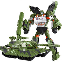 Transformers Toys Anime Action Figure ABS Robot Car Tank Plastic Model Gift For Kids AB152 - Lusy Store