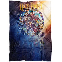 Harry Potter Fleece Blanket Battlefield Blanket