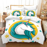 Unicorn Bedding 3D Cross-Border Home Textile Quilt Cover BD105 - Lusy Store