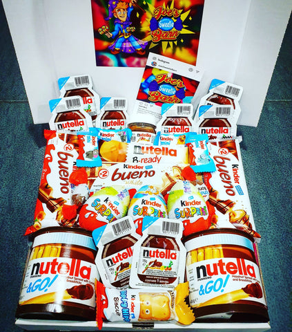 Kinder & Nutella Themed Gift Box