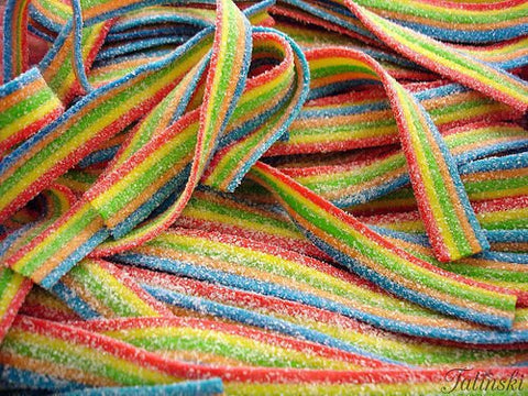 Fizzy Rainbow Belts(x10)