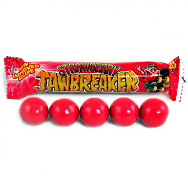 Strawberry Jawbreakers