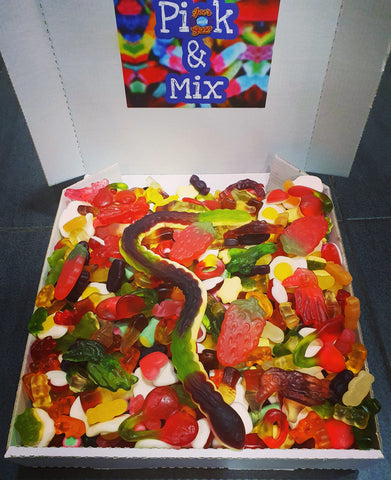 Large Mixed Haribo Candy Box