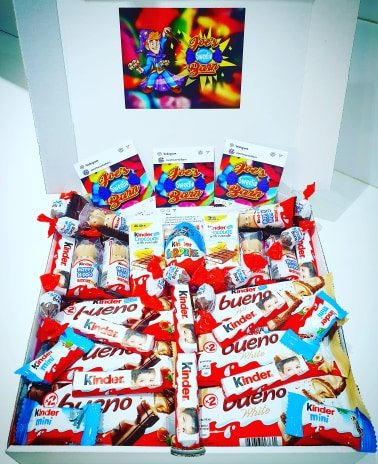 Giant Kinder Themed Gift Box