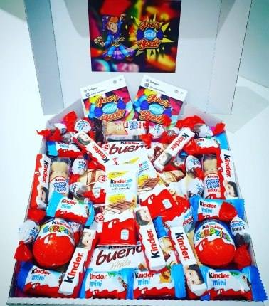 Large Kinder Themed Gift Box