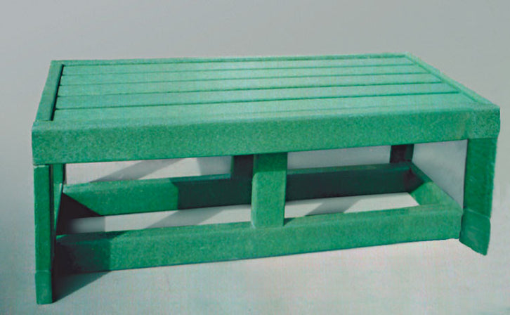 Dent-Saver Outdoor Bench